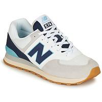 Scarpe Sneakers basse New Balance 574 Grigio / Navy