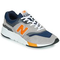 Scarpe Uomo Sneakers basse New Balance CM997HEX Navy / Grigio / Arancio