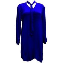 Abbigliamento Donna Tuniche By La Vitrine Tunique l'olive verte Marine CH3 Blu