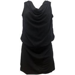 Abbigliamento Donna Vestiti By La Vitrine Robe Noir Coco Giulia 0Y-019 Nero