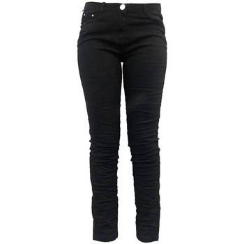 Abbigliamento Donna Pantaloni morbidi / Pantaloni alla zuava Dress Code Pantalon C601 Noir Nero