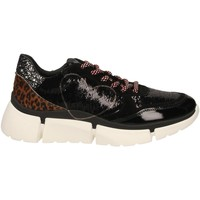 Scarpe Donna Sneakers basse Nira Rubens STINGER RUNNING CUORE GLAM DARK nero-leopard