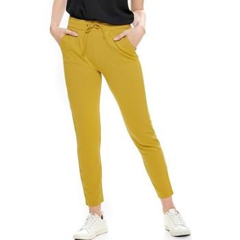 Abbigliamento Donna Pantaloni Jacqueline De Yong PANTALON  PRETTY Giallo