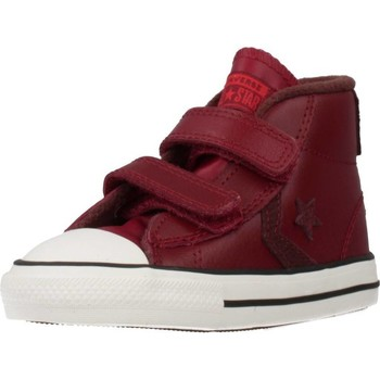 Scarpe Bambino Sneakers alte Converse STAR PLAYER 2V MID Rosso