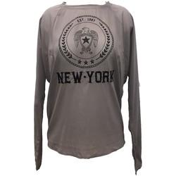 Abbigliamento Donna Top / Blusa Charlie Joe Top New york Est 1967  Taupe Marrone