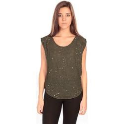 Abbigliamento Donna Top / Blusa Charlie Joe Top Pearl Vert Verde