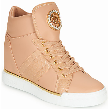 Scarpe Donna Sneakers alte Guess FL5FRE-ELE12-PINK Pink