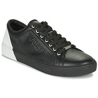 Scarpe Uomo Sneakers basse Guess LUISS Nero / Bianco