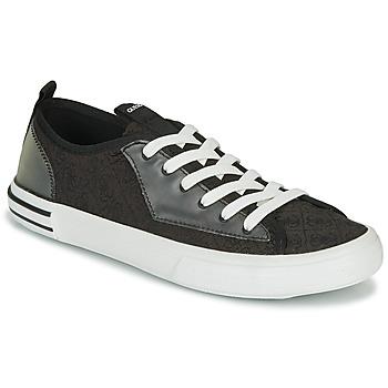 Scarpe Uomo Sneakers basse Guess NETTUNO LOW Nero / Grigio