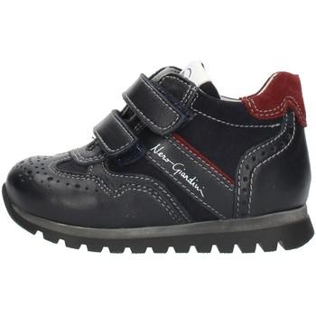 Scarpe Bambino Sneakers alte Nero Giardini A724350M Blu