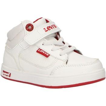 Scarpe Unisex bambino Sneakers alte Levi's VGRA0065S NEW GRACE Blanco