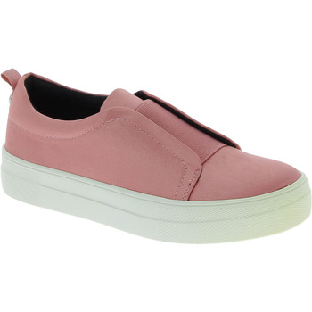 Scarpe Donna Slip on Steve Madden scarpe slip-on platform senza lacci fashion don rosa