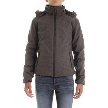 Abbigliamento Uomo Giubbotti Yes Zee J834-L700 Antracite