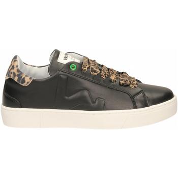 Scarpe Donna Sneakers basse Womsh SNIK black-leopard