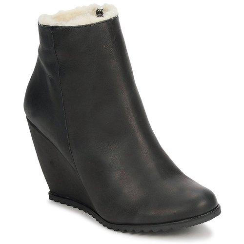 D.Co Copenhagen SALLY ZIPPER Black Scarpe Stivaletti Donna 126,00
