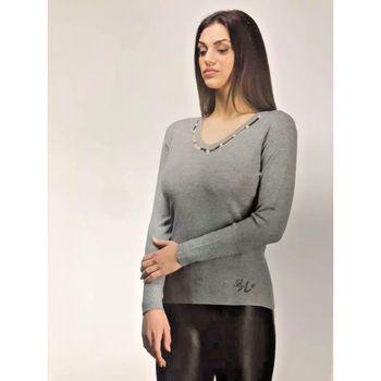 Abbigliamento Donna T-shirts a maniche lunghe Lolita ATRMPN-11328 Grigio