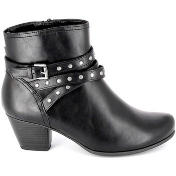 Scarpe Donna Stivaletti Jana Boots 25362-23 Noir Nero