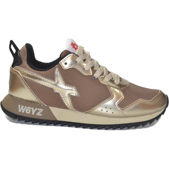 Scarpe Donna Sneakers W6Yz - Just Say Wizz JUST SAY WIZZ W6YZ JET W ORO TOPO VELOUR NYLON  ORO