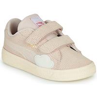 Scarpe Bambina Sneakers basse Puma SUEDE Rosa