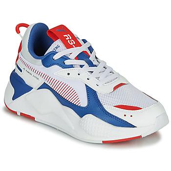 Scarpe Unisex bambino Sneakers basse Puma RS-X Bianco / Blu / Rosso