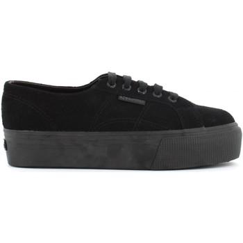 Scarpe Donna Sneakers basse Superga donna sneakers con platform S003LM0 F90 2790 SUEW Nero
