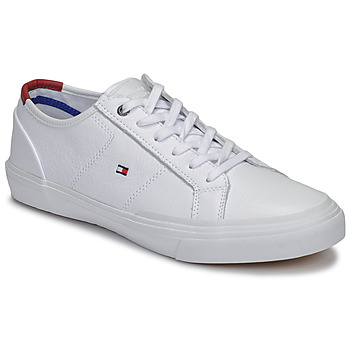 Scarpe Uomo Sneakers basse Tommy Hilfiger CORE CORPORATE FLAG SNEAKER Bianco