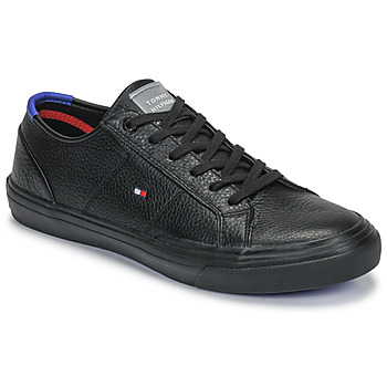 Scarpe Uomo Sneakers basse Tommy Hilfiger CORE CORPORATE FLAG SNEAKER Nero