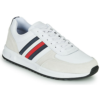Scarpe Uomo Sneakers basse Tommy Hilfiger MODERN CORPORATE LEATHER RUNNER Bianco
