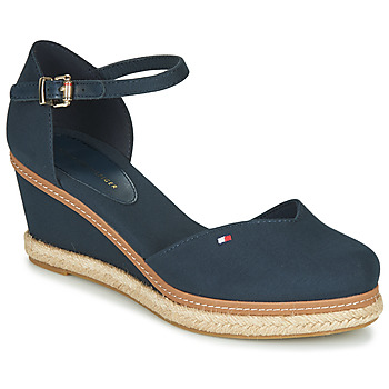 Scarpe Donna Sandali Tommy Hilfiger BASIC CLOSED TOE MID WEDGE Blu