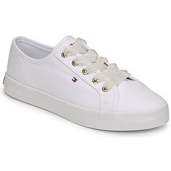 Scarpe Donna Sneakers basse Tommy Hilfiger ESSENTIAL NAUTICAL SNEAKER Bianco