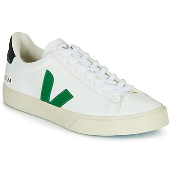 Scarpe Sneakers basse Veja CAMPO Bianco / Verde / Nero