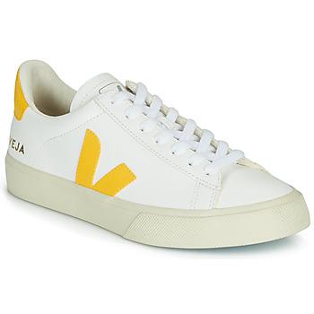 Scarpe Sneakers basse Veja CAMPO Bianco / Giallo