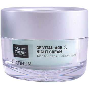 Bellezza Antietà & Antirughe Martiderm Platinum Gf Vital Age Night Cream  50 ml