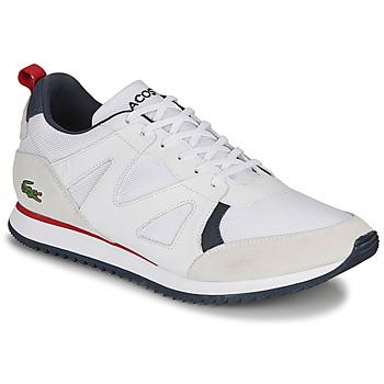 Scarpe Uomo Sneakers basse Lacoste AESTHET 120 2 SMA Bianco / Blu / Rosso