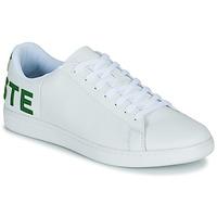 Scarpe Uomo Sneakers basse Lacoste CARNABY EVO 120 7 US SMA Bianco / Verde