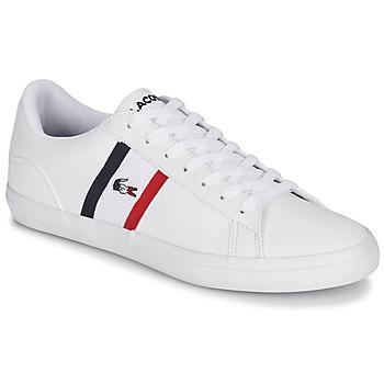 Scarpe Uomo Sneakers basse Lacoste LEROND TRI1 CMA Bianco / Blu / Rosso