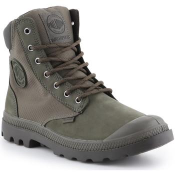 Scarpe Sneakers alte Palladium Manufacture Pampa Sport Cuff WPN 73234-309-M green