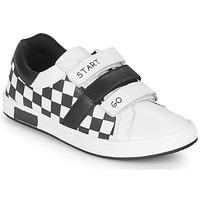Scarpe Bambino Sneakers basse Chicco CANDITO Bianco / Nero