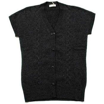 Abbigliamento Donna Gilet / Cardigan Ferrante ATRMPN-05432 Grigio