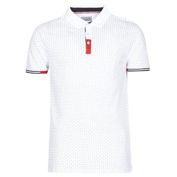 Abbigliamento Uomo Polo maniche corte Casual Attitude NELLY Bianco