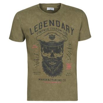 Abbigliamento Uomo T-shirt maniche corte Casual Attitude MCOOL Kaki