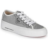 Scarpe Donna Sneakers basse Emporio Armani X3X109-XL487 Argento
