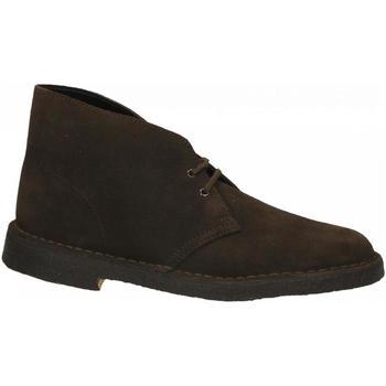 Scarpe Uomo Stivaletti Clarks DESERT BOOTS brown