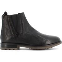 Scarpe Uomo Stivaletti Antica Cuoieria scarpe uomo stivaletti 20978-O-VA4 OYSTER Nero