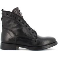 Scarpe Donna Stivaletti Creative scarpe donna stivaletti MOMA 807 TERRY NERO Pelle