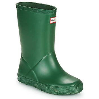 Scarpe Unisex bambino Stivali da pioggia Hunter KIDS FIRST CLASSIC Verde