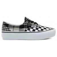 Scarpe Sneakers basse Vans Era Platform Plaid Checkerboard -  Black/True White Nero