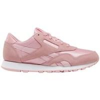 Scarpe Bambina Sneakers basse Reebok Sport CL Nylon Rosa