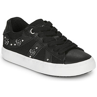 Scarpe Bambina Sneakers basse Geox J KILWI GIRL Nero