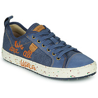 Scarpe Bambino Sneakers basse Geox J ALONISSO BOY Blu / Marrone